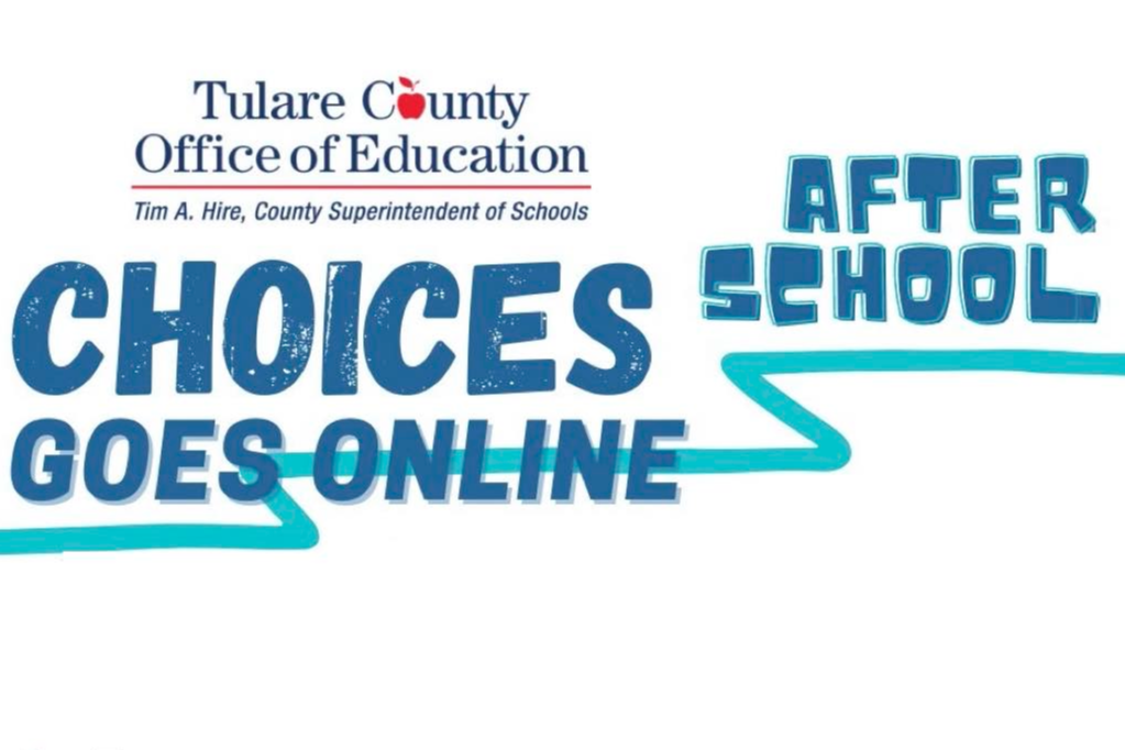 Tulare County office of education after school choices goes online