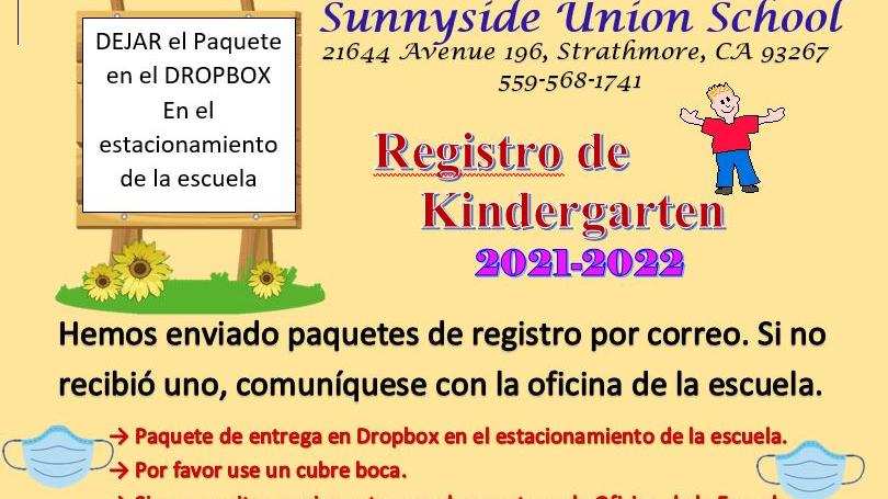 Registro de Kindergarten