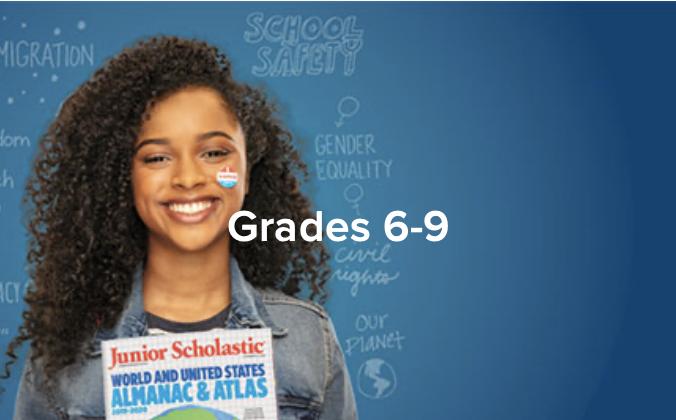 Grades 6 through 9