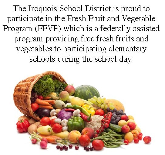 Fresh Fruit and Vegetable Program sign