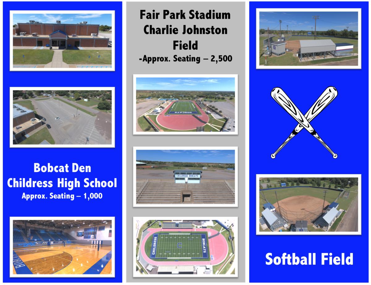 Photos of the baseball fields.