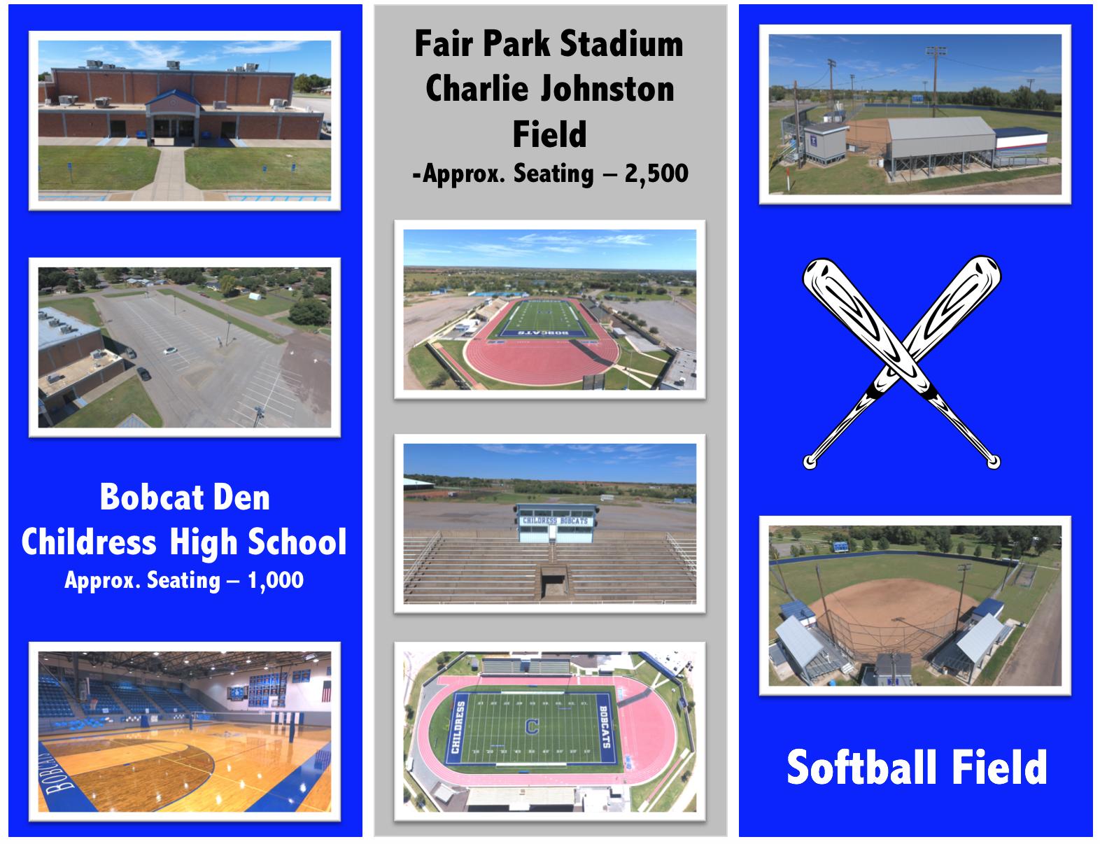 Stadiums information