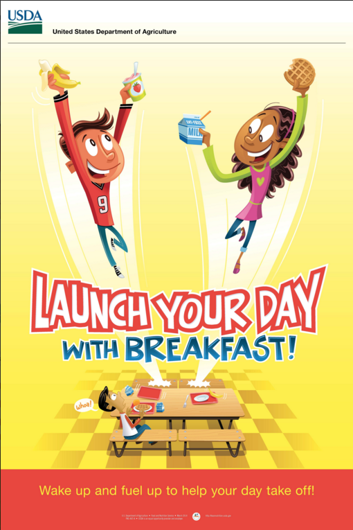 LAUNCH YOUR DAY WITH BREAKFAST!
