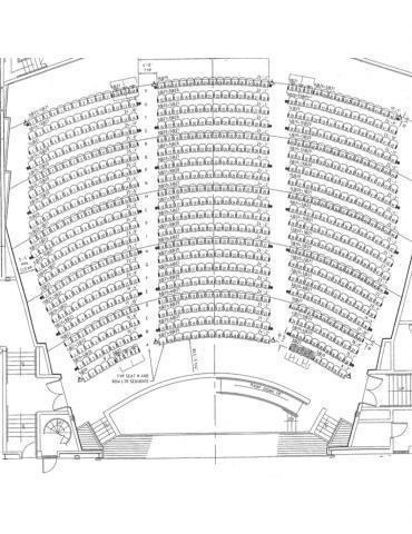 NWSC Auditorium Seating Layout