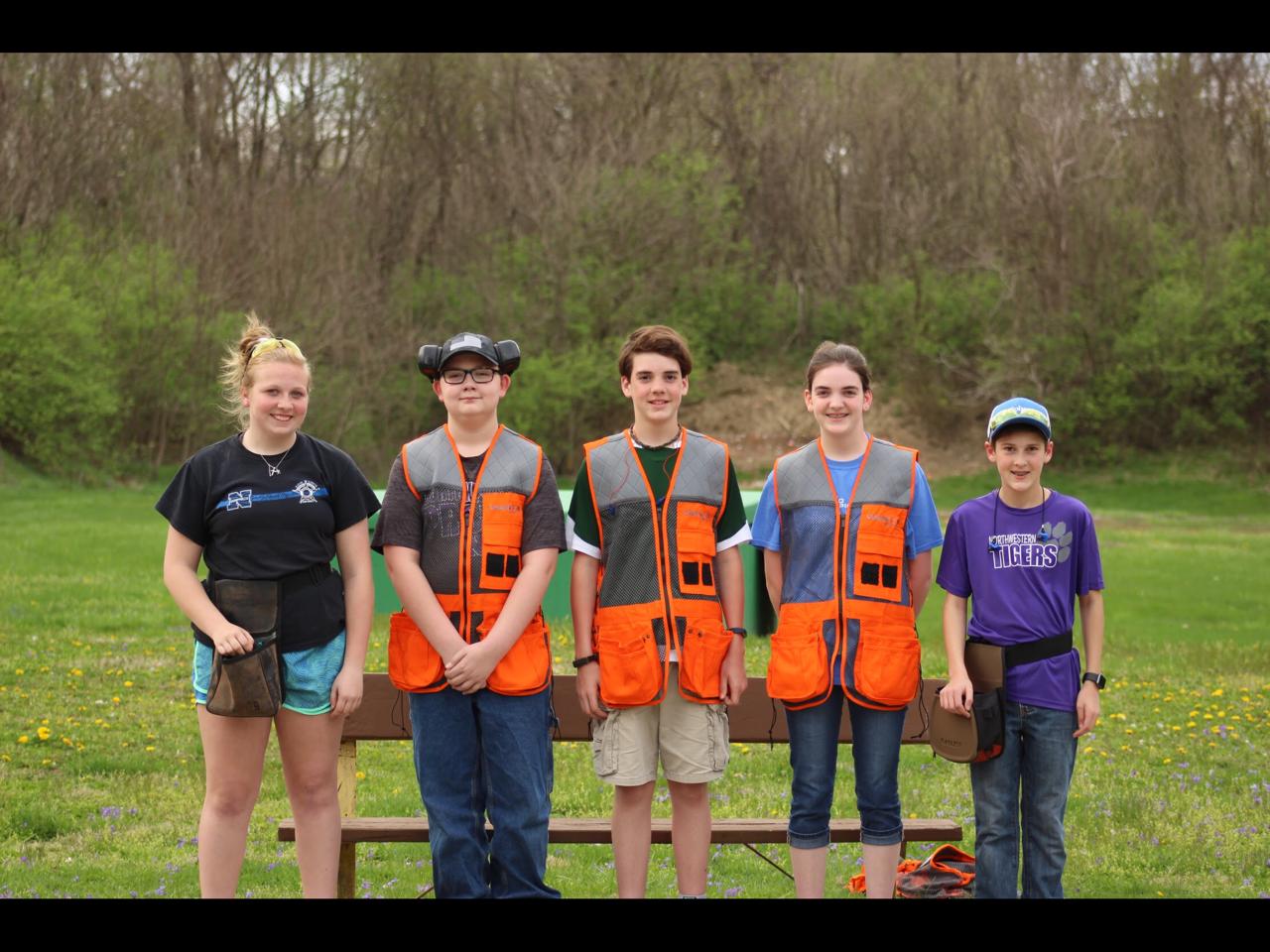 NMS Trap Shoot Team