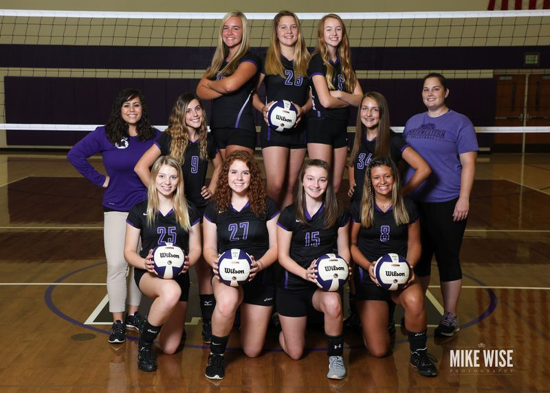 Photo of the 2019-2020 JV Volleyball team.