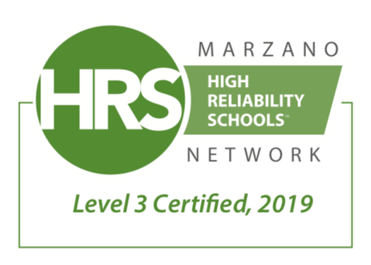 High Reliable Schools Level 3 Certified