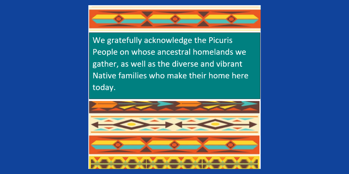 We gratefully acknowledge the Picuris People on who's ancestral homelands we gather.