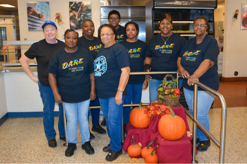 High School and Middle School Cafeteria Staff