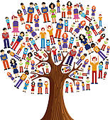 tree of kids