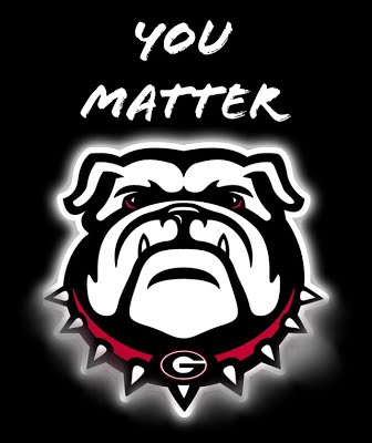 You matter - A Bulldog logo.