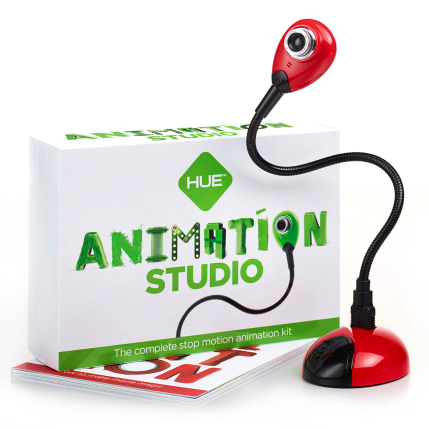 HUE Animation Studio software and camera for stop-motion animation