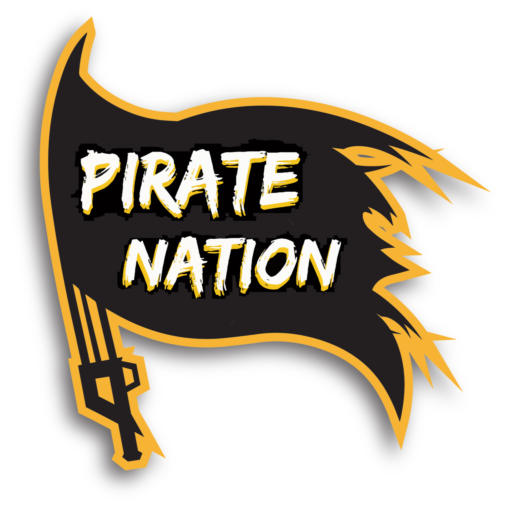 Pirate Nation Flag