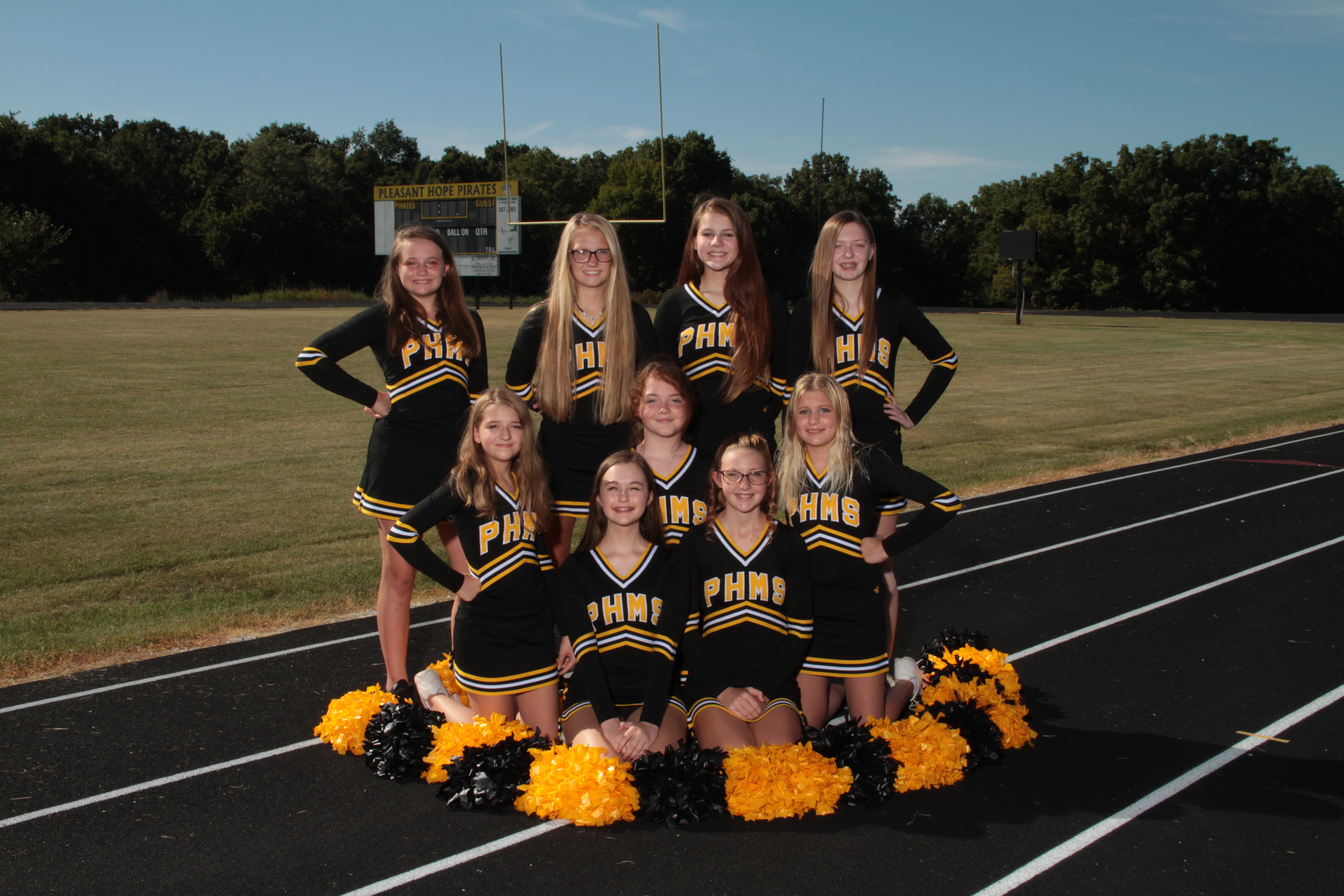 MS Cheer Team Picture