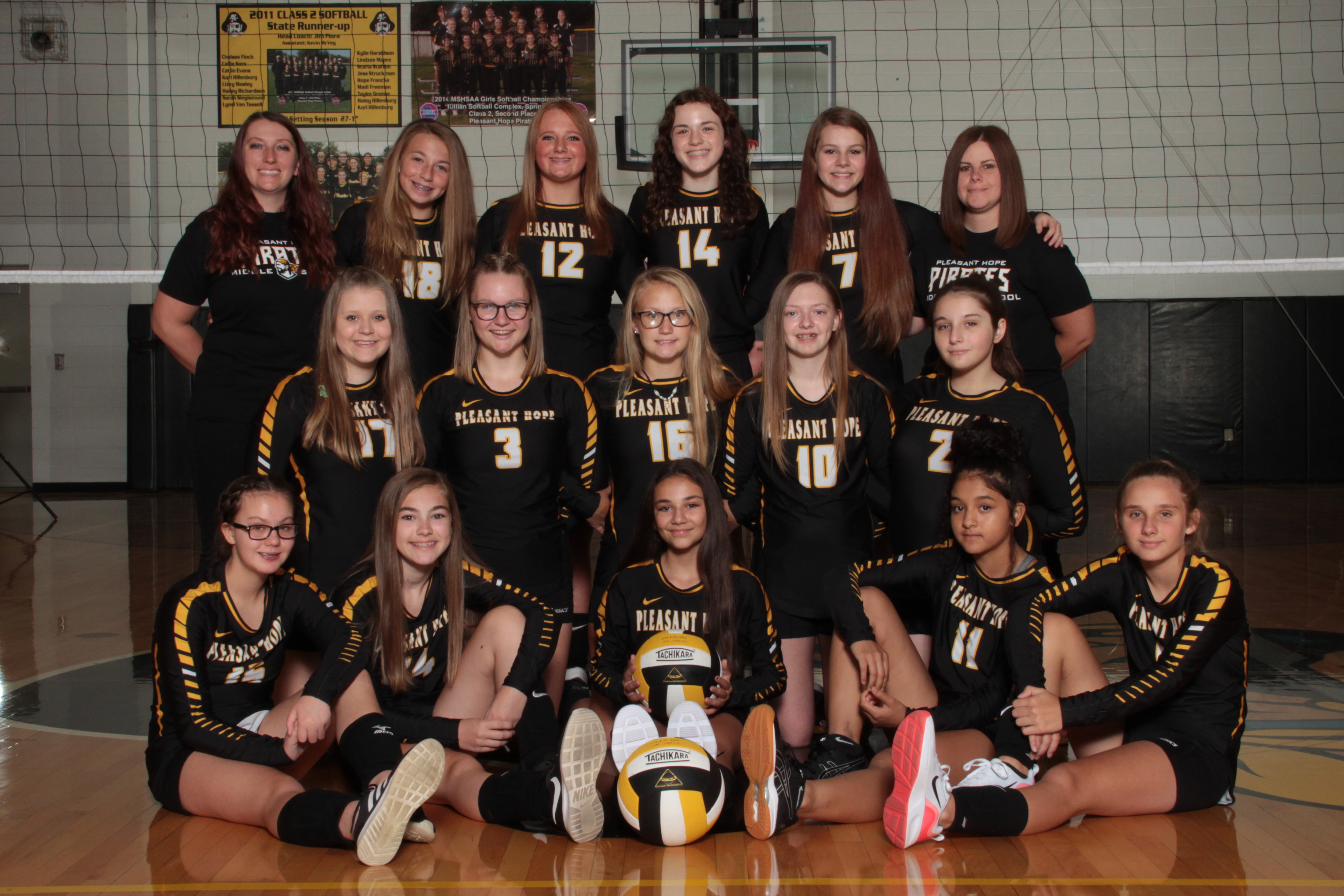 MS Volleyball Team Picture