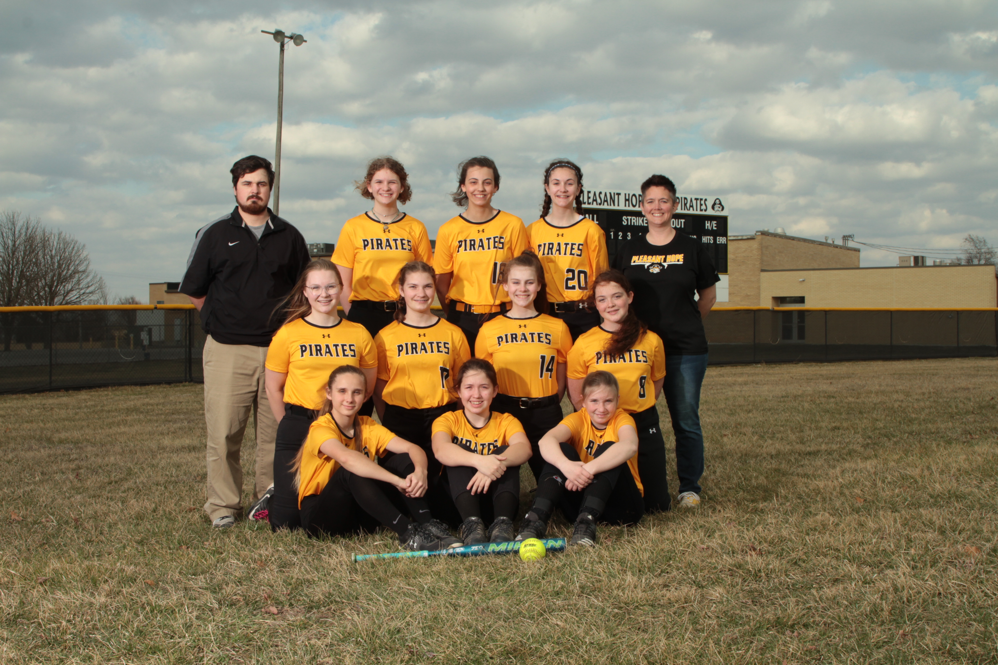 MS Softball Team Picture