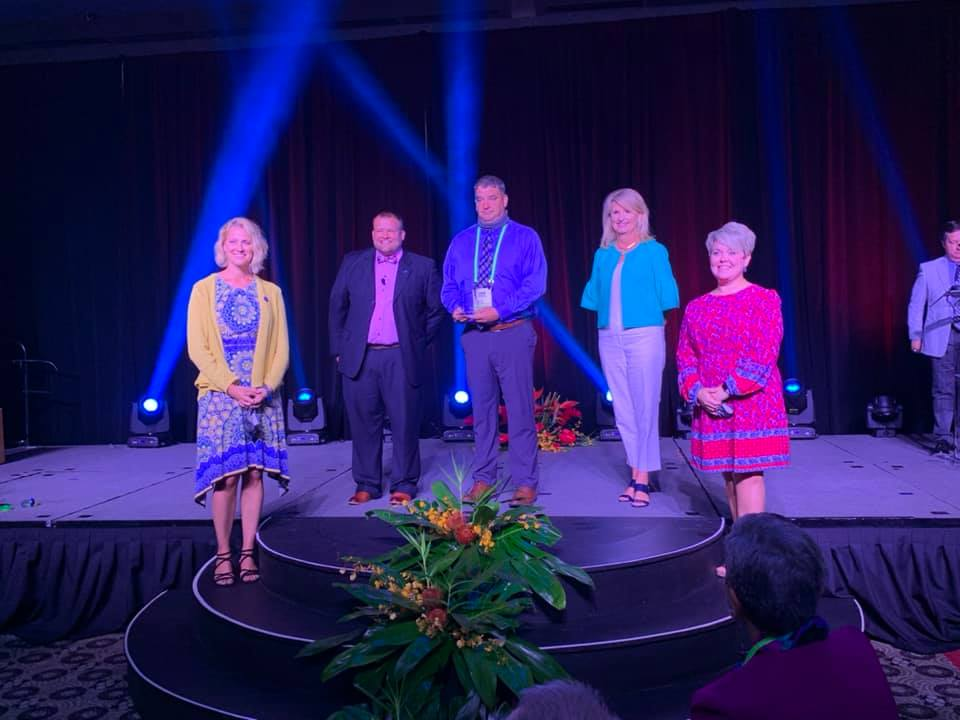 David Lyons receives KASA Administrator of the Year