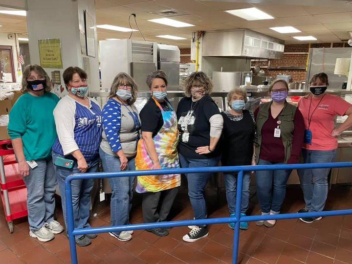 LCMHS Kitchen Staff 2021