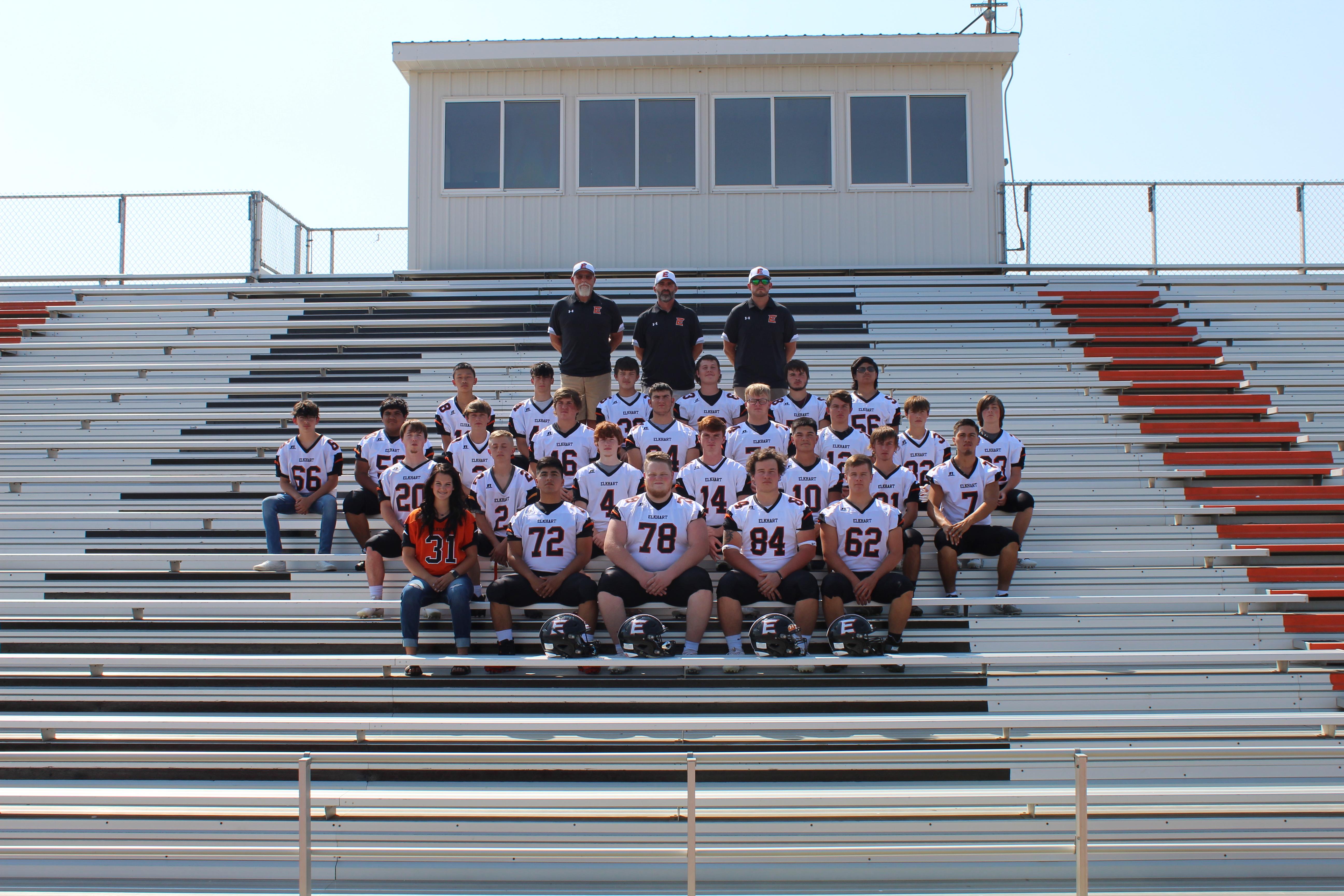 EHS Football Team 2020
