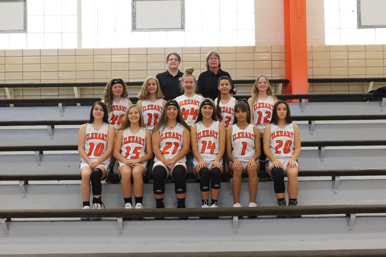 EMS Girls Basketball Team 2020-2021