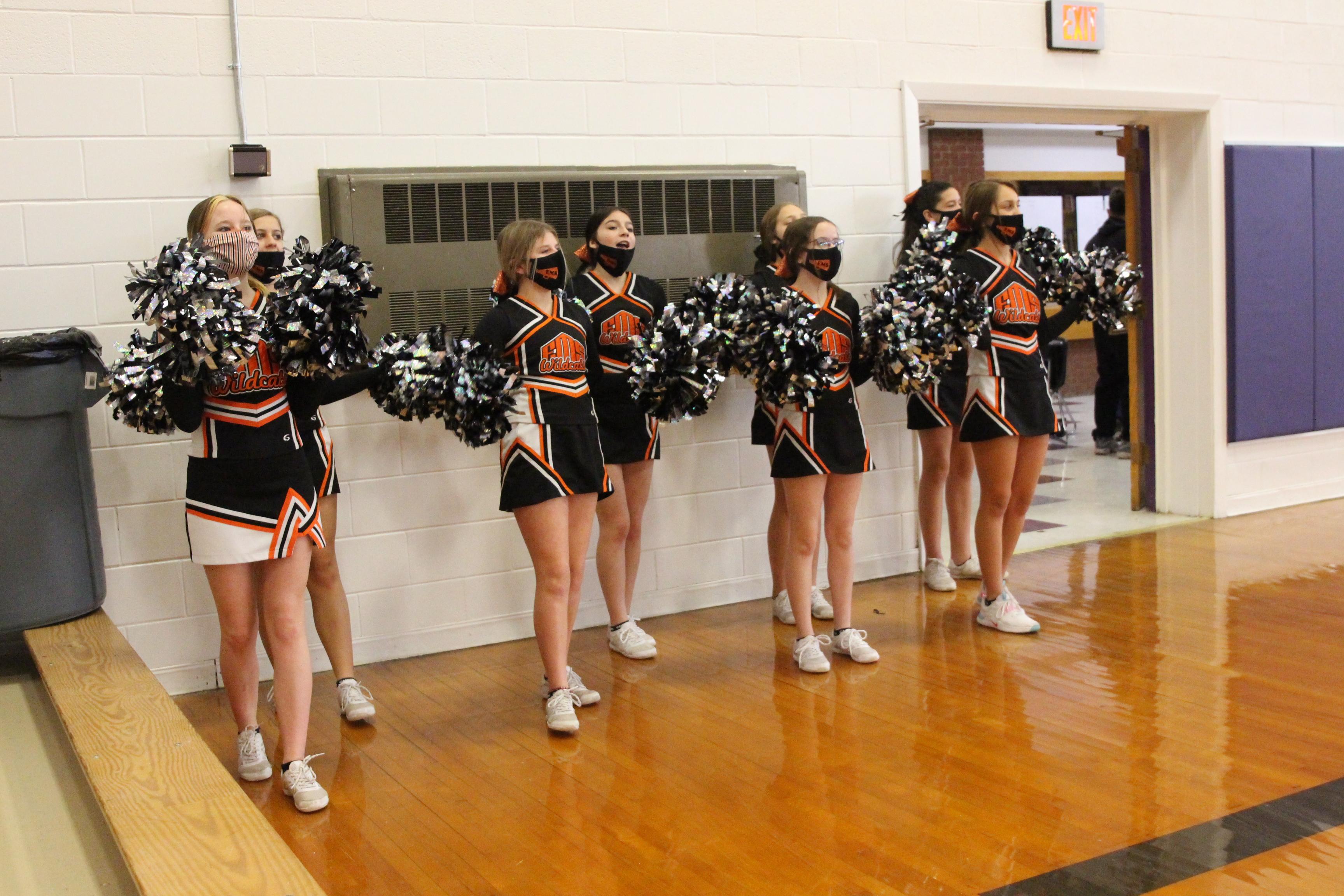 EMS Cheer vs. Stanton County HPL Tournament February 2, 2021
