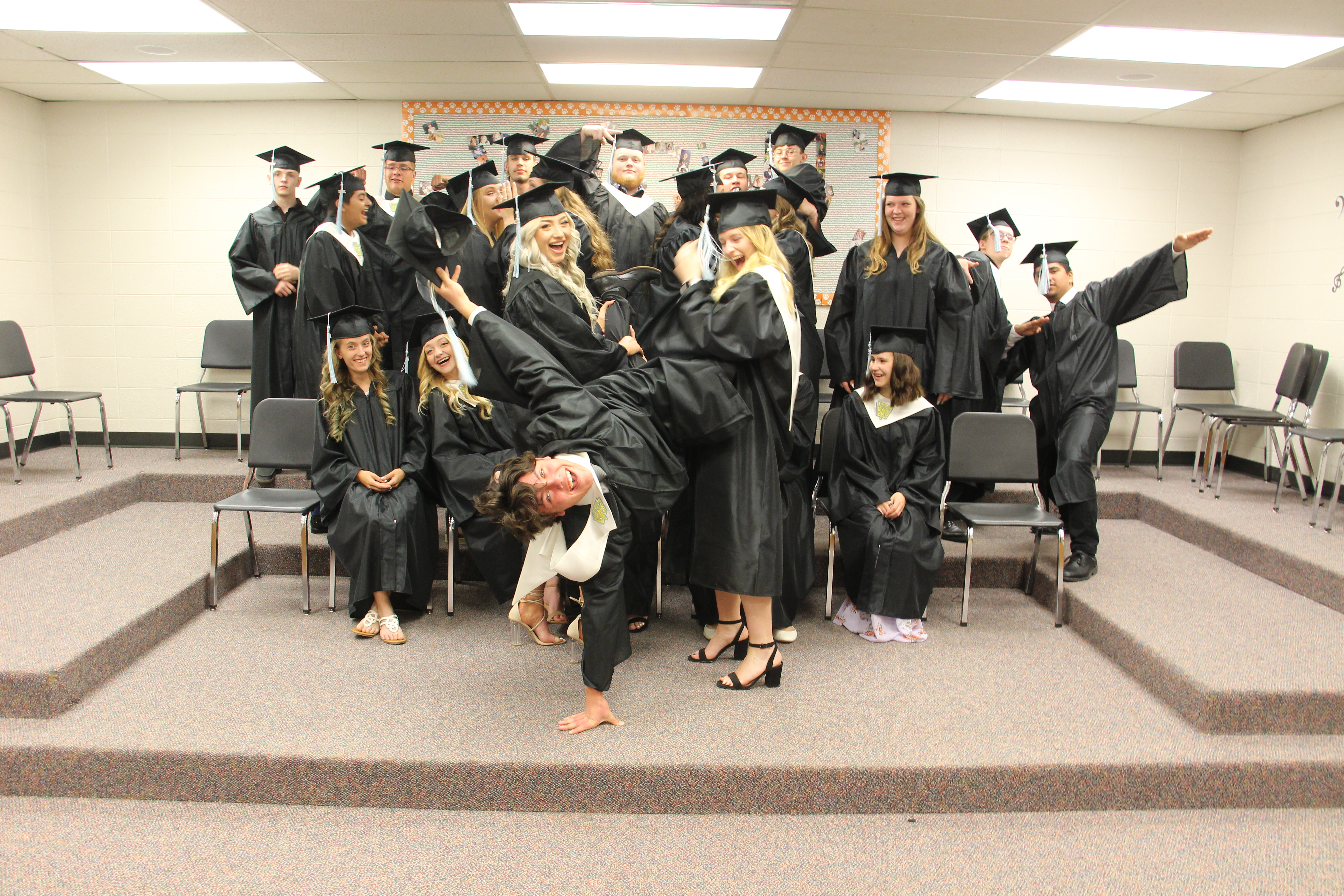 Senior Class Goofing Around