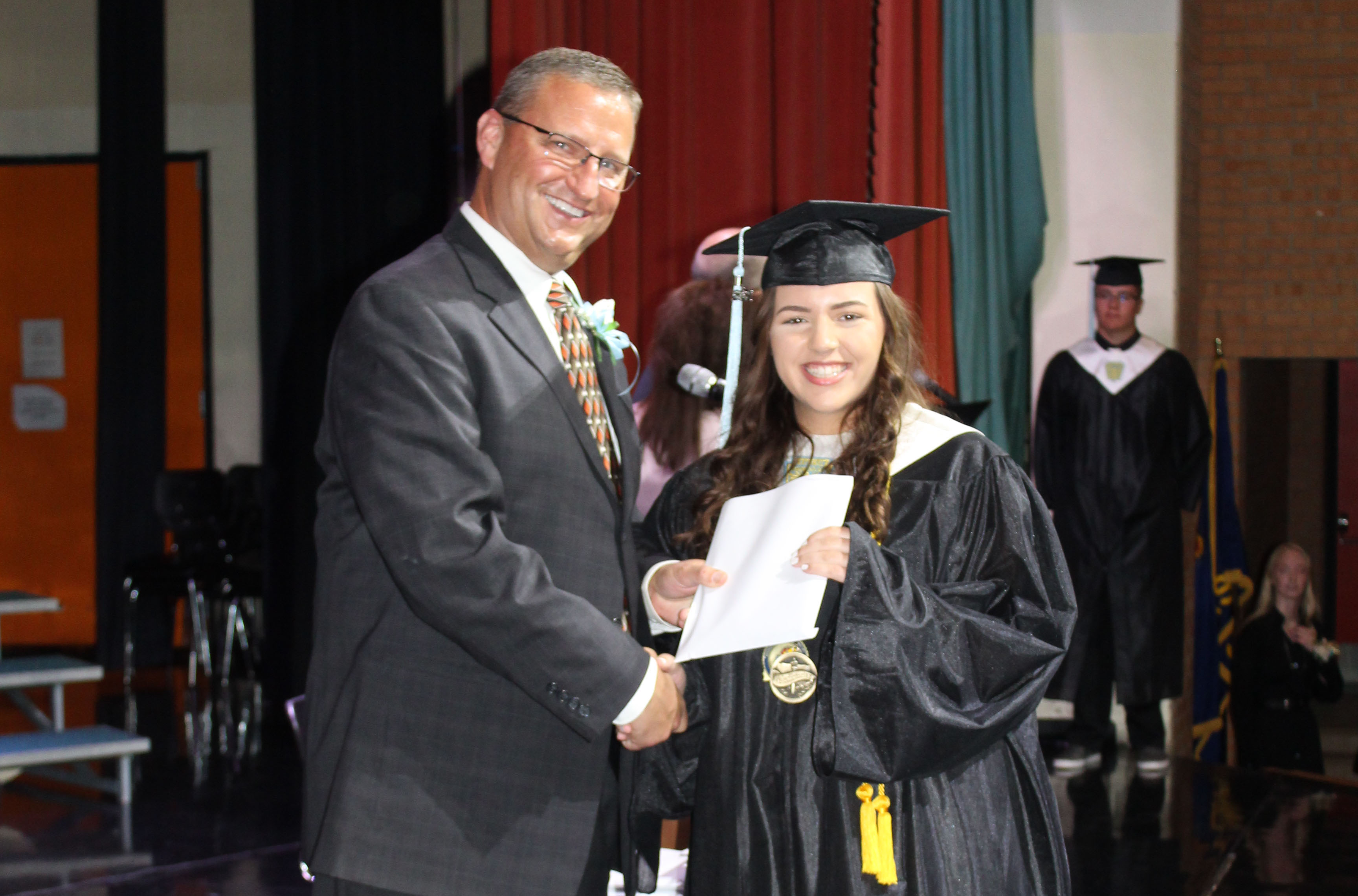 Shaybree Receiving Her Diploma