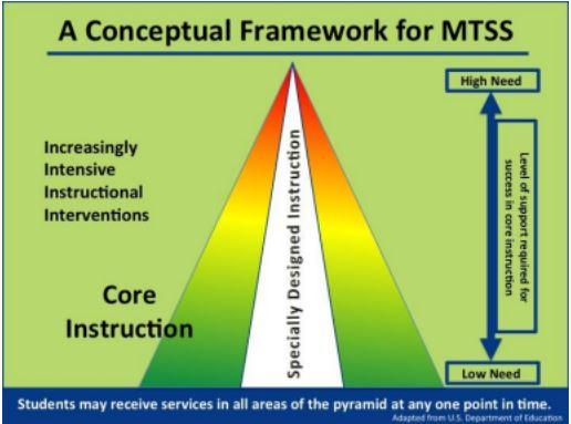 A Conceptual Framework for MTSS