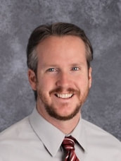A photo of Dr. Andrew Anderson, Barrington Middle School Principal