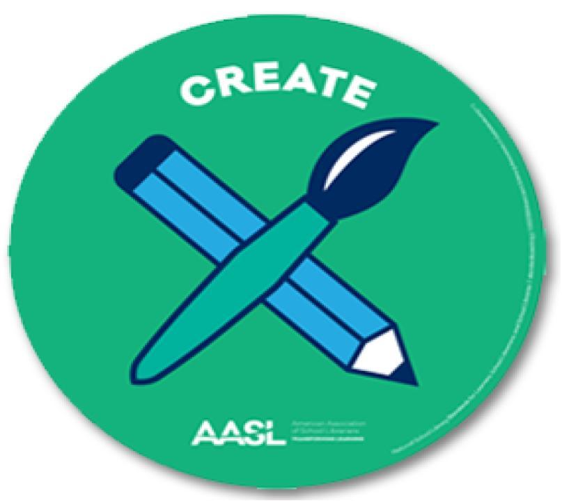 """Create"" graphic"