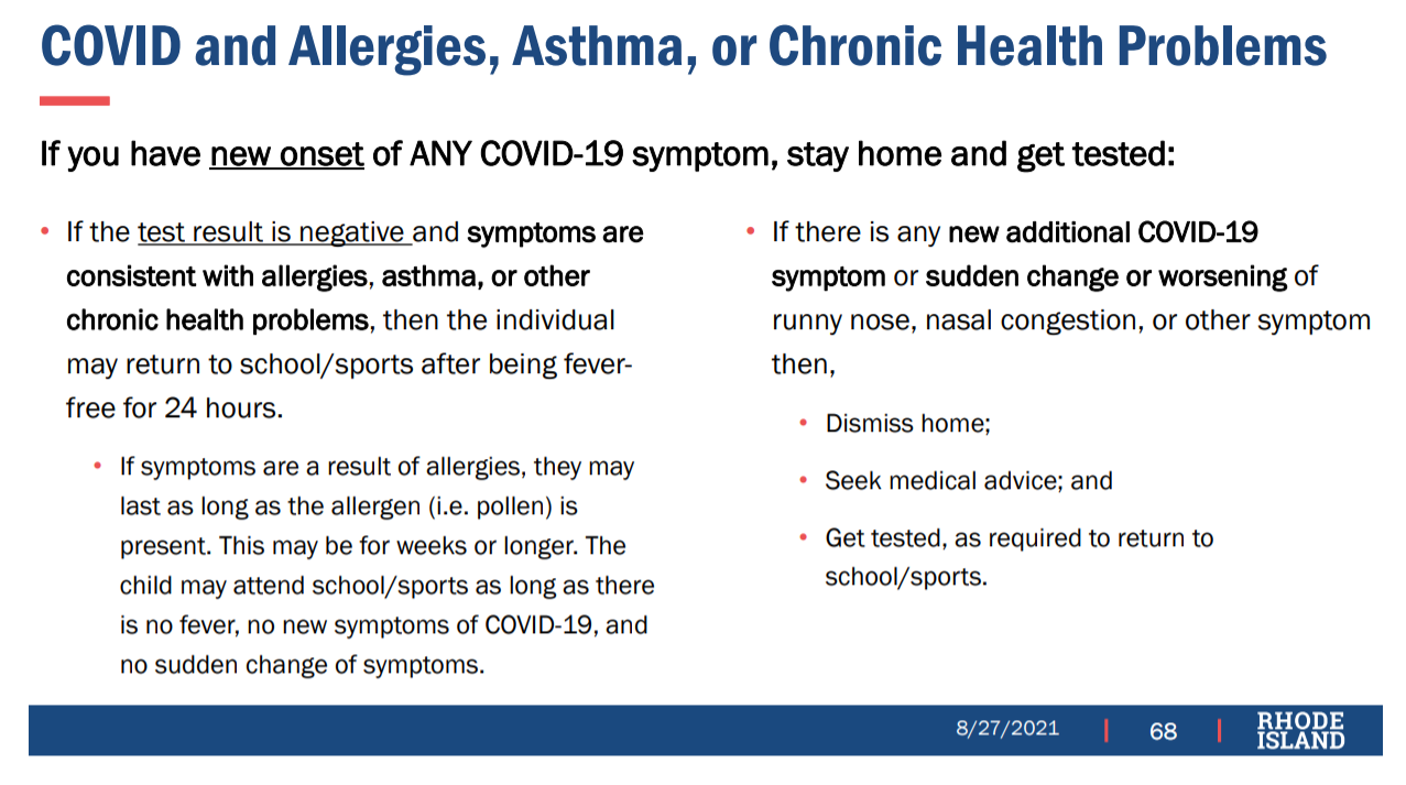 COVID and Allergies