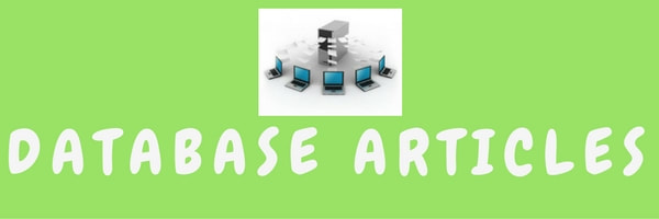 Database Articles
