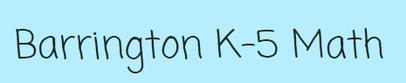 Barrington K-5 Math