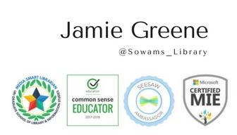 Jamie Greene accomplishments