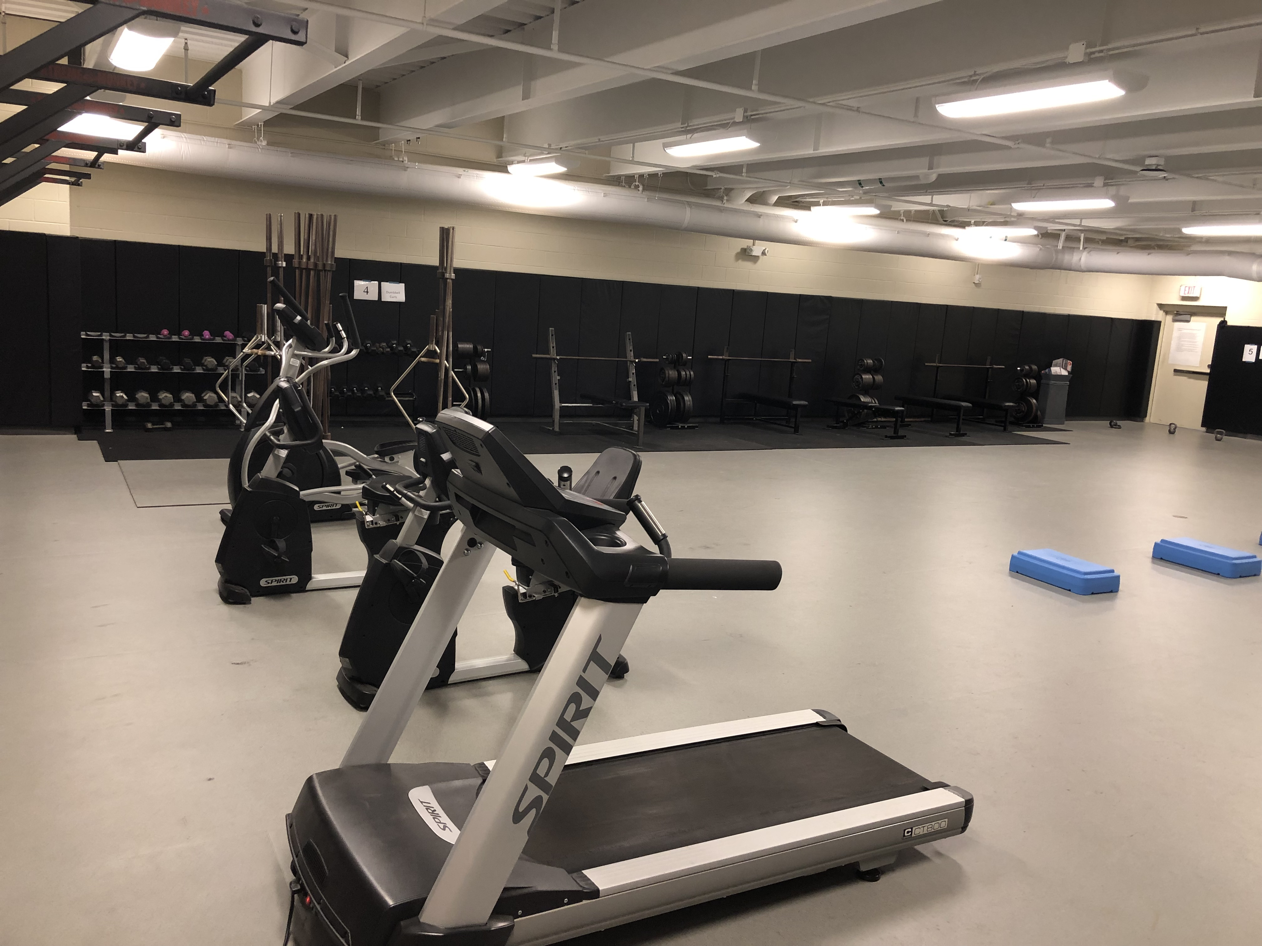 A photo of the school gym.