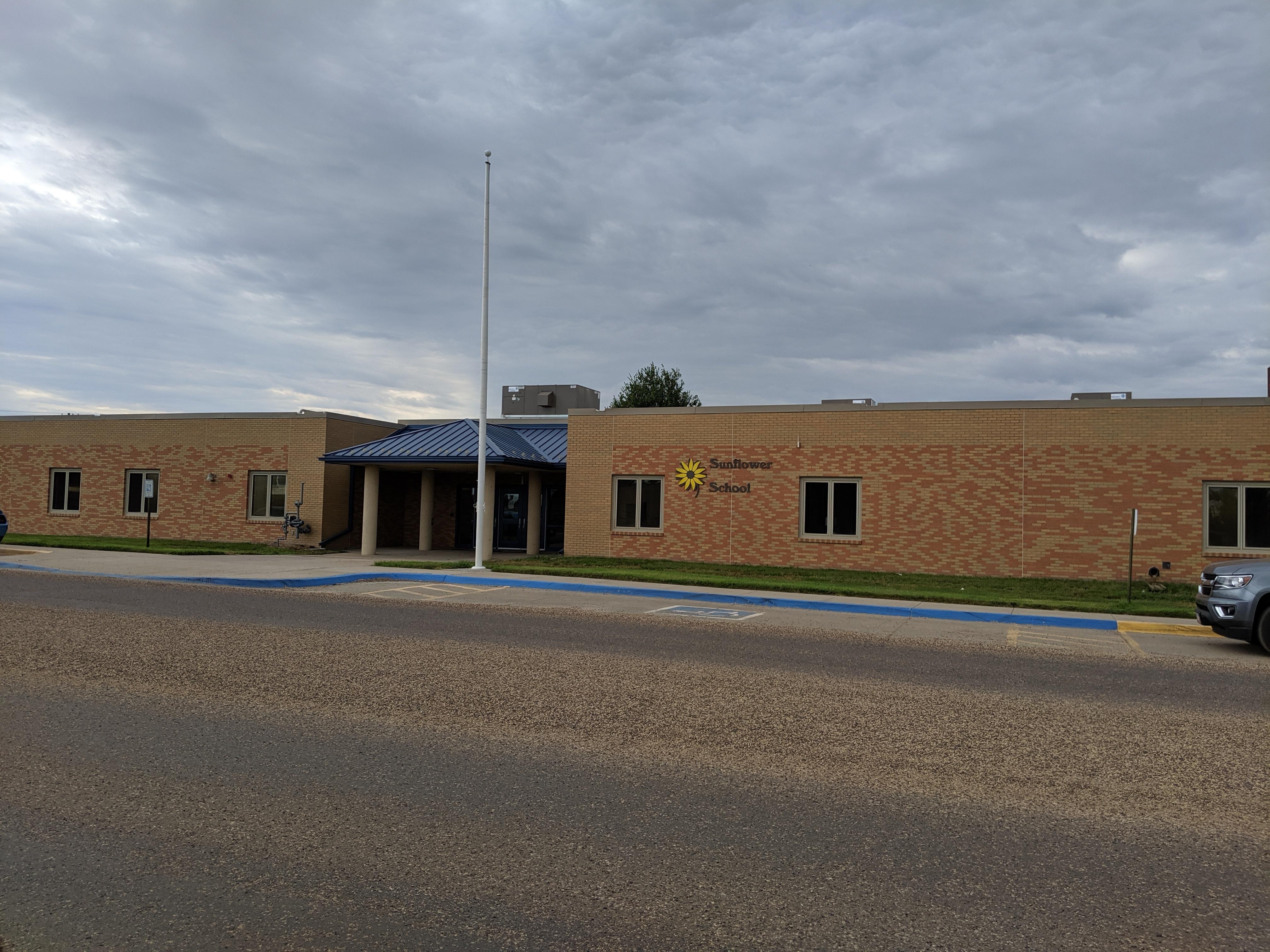 Sunflower School building