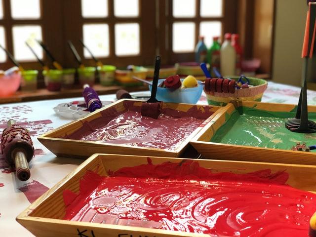 Painting Buckets