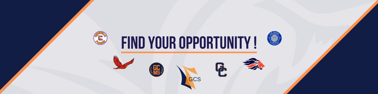 Find Your Opportunity Graphic