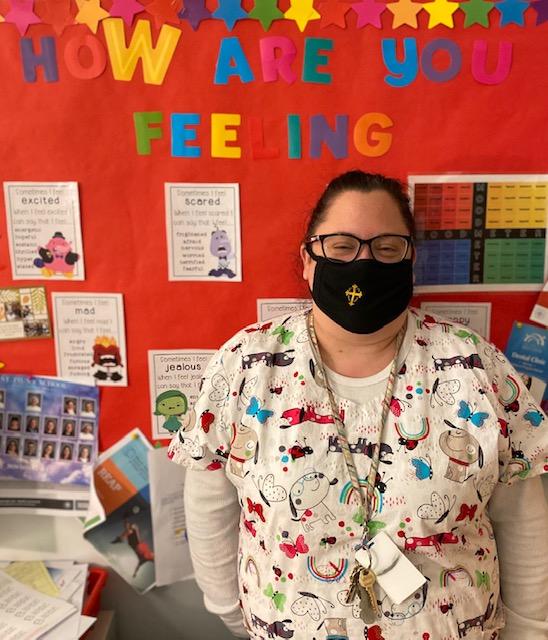 School Nurse Danielle Paroyian