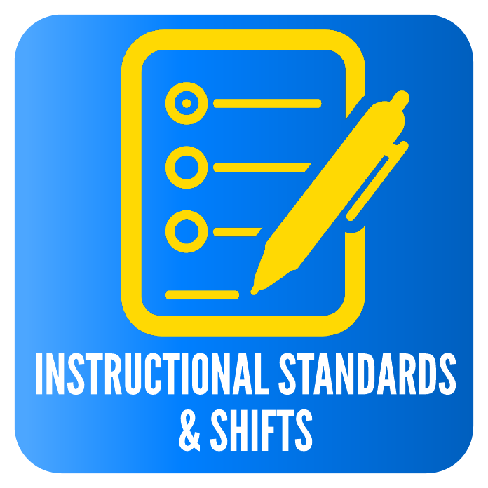 INSTRUCTIONAL STANDARDS & SHIFTS