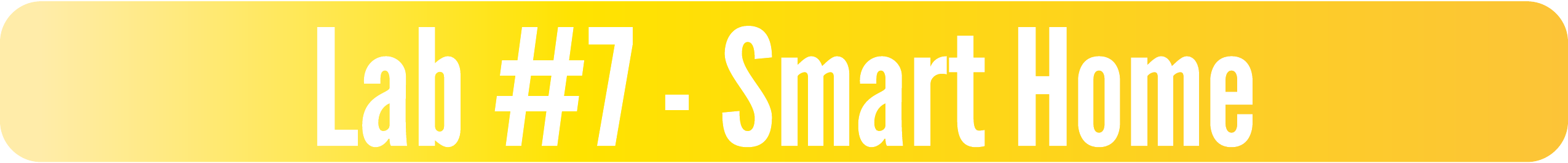 Lab #7 - Smart Home