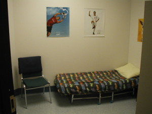 Photo of the waiting area.