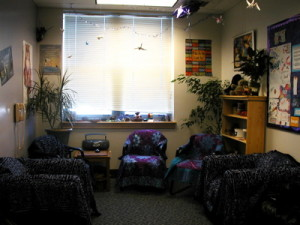 Photo of the group room.
