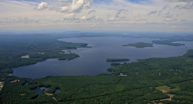Photo of the SEBAGO LAKE.