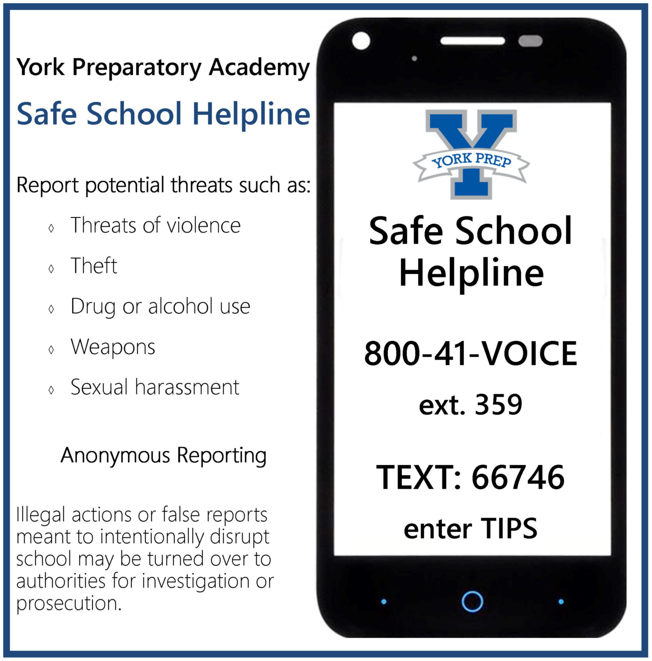 Safe School Helpline image