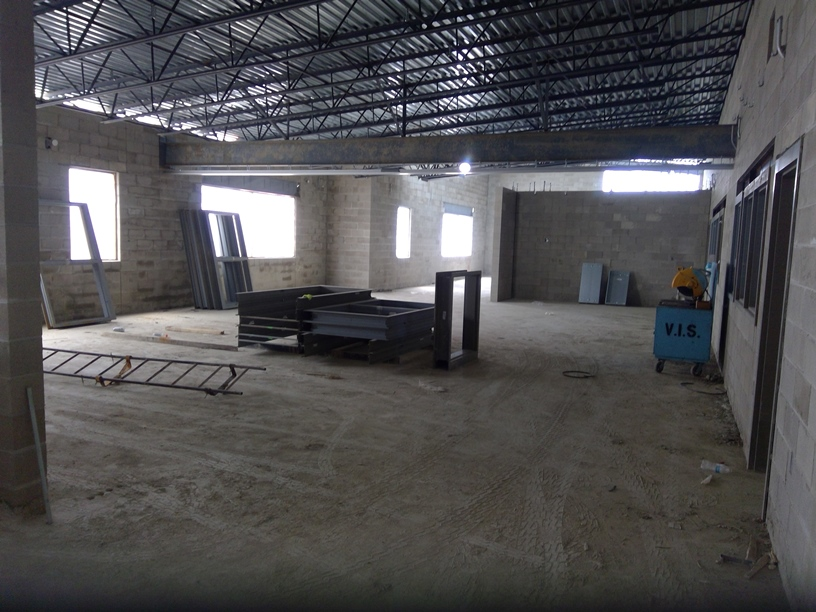 Photo of Upstairs classrooms.