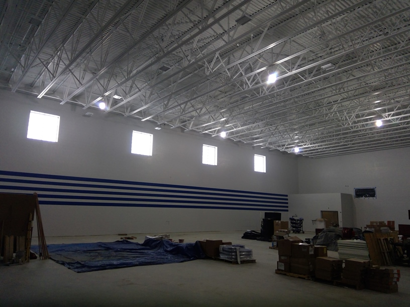Photo of the gym.