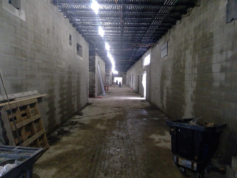 Photo of the First-floor hallway.