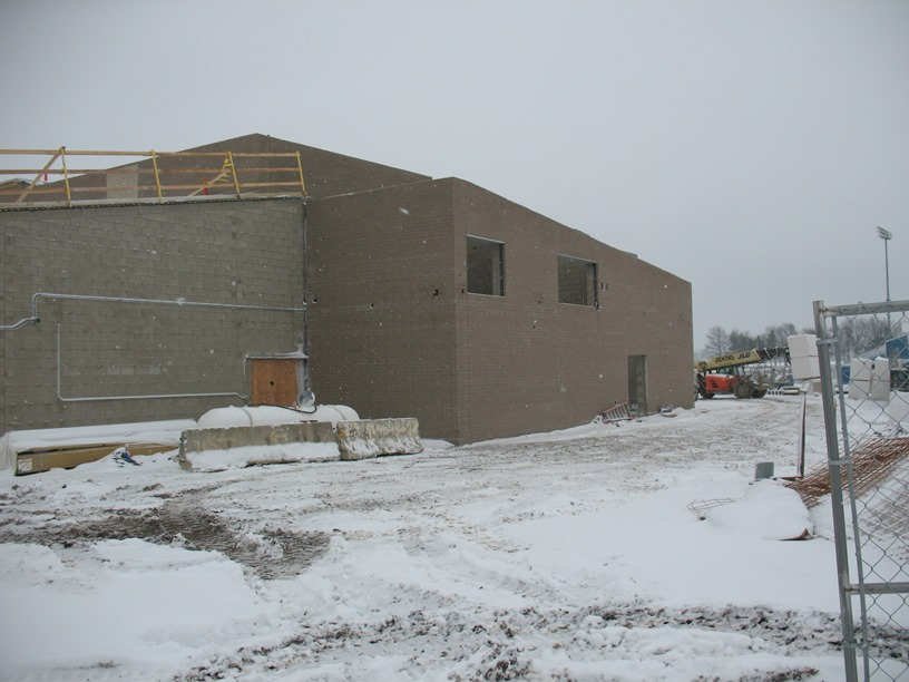 Photo of the West side of the building.