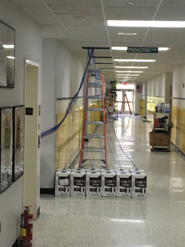 Photo of the Elementary Wiring.